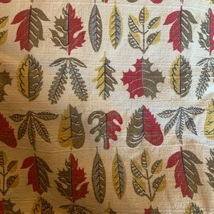 Vintage fall tablecloth